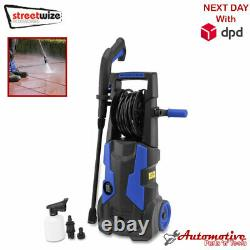 Electric Pressure Washer 2100 PSI/145 BAR Water High Power Jet Wash Patio Car