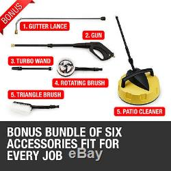 Electric Pressure Washer 2400 PSI / 165 BAR Jet Power Patio Cleaner Wilks-USA