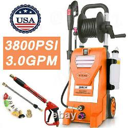 Electric Pressure Washer 3800PSI 3.0GPM High Power Cleaner Machine Home -NEW