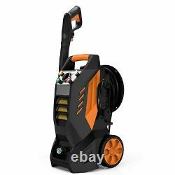 Famistar Pressure Washer, 2300PSI 2.37GPM, Clean Machine with Hose Reel