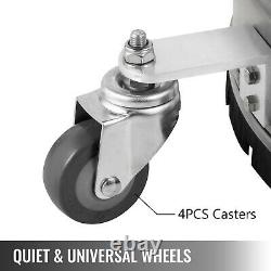 Flat Surface Cleaner 18 Stainless Steel 4000PSI Water Pressure Washer Wheels