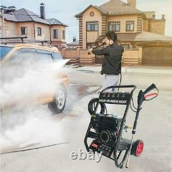 Gas Pressure Washer 4800PSI 7HP Gas with Power Spray Gun 4-Stroke 5 Nozzles US