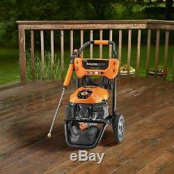 Generac 7132 3100 PSI 2.5 GPM Electric Start Residential Pressure Washer