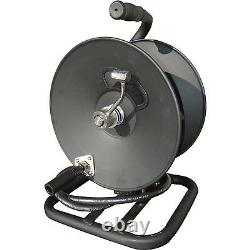 General Pump 2100357 3/8 x 100' 5000 PSI Hand-Carry Pressure Washer Hose Reel