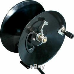 General Pump 5000 PSI Hose Reel with Mounting Base 100' x 3/8
