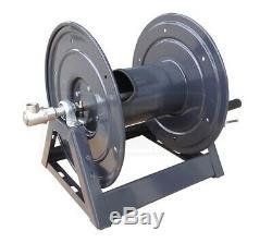 General Pump DHRA50300 300' x 3/8, 5000 PSI Steel A-Frame Hose Reel