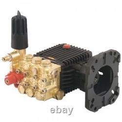 General Pump TX1510G8UIA Pressure Washer Pump, Triplex, 4.0 GPM@3500 PSI, 3400 R