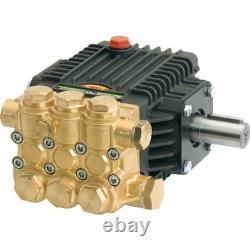 General Pump TX1513S17 Pressure Washer Pump, Triplex, 3.0 GPM@3000 PSI, 1750 RPM