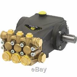 General Pump Triplex Pressure Washer Pump- 4.0 GPM, 4000 PSI, Belt Drive