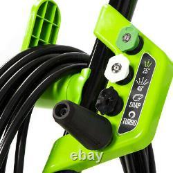 Greenworks Electric Pressure Washer 2000 PSI 1.2 GPM 13-Amp with Water Spray Gun