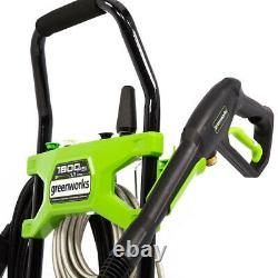 Greenworks GPW1803 1800 PSI 1.1 GPM Cold Water Electric Pressure Washer 5107302