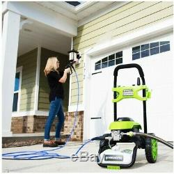 Greenworks GPW2006 2000 PSI 1.2 GPM Cold Water Electric Pressure Washer 5107402