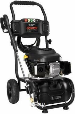 HUMBEE Tools WG-3200 3,200 Psi Gas Pressure Washer, Black, EPA and CARB