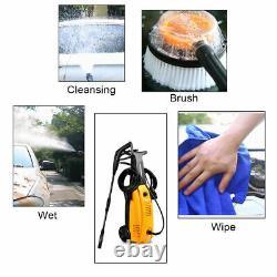 HYET 3000PSI Electric High Pressure Washer Burst Sprayer Built-In Detergent HD