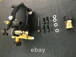 Heavy Duty Pressure Washer Horizontal Pump 3200 psi 2.5 GPM Fits Most 3/4 Shaft