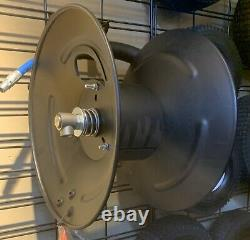Heavy Duty Pressure Washer Hose Reel-Holds 3/8in x 50ft Hose 4000 PSI