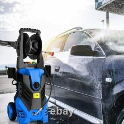 Homdox Pressure Washer 3000PSI 1.8GPM with Power Spray Cleaner Gun 5 Nozzles
