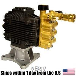 Horizontal Pressure Washer Pump 4000PSI 4GPM 1 Diameter Shaft