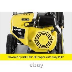 Karcher Gas Pressure Washer Kohler Engine Axial Pump 3000 psi 2.4 GPM Portable