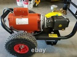 Kerher Hk1600 Electric Pressure Washer 1,600 Psi Motor 2 HP Siemens 110 Vac