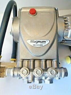 Magnum M2-1313G8 4000 PSI 1 Shaft Pressure Washer Pump with Unloader