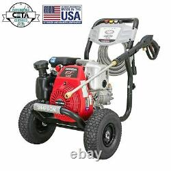 NEW Simpson Megashot 3,300 PSI 2.4 GPM Gas Pressure Washer with Honda Engine