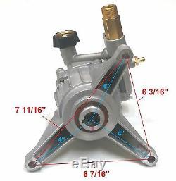New 2800 psi PRESSURE WASHER WATER PUMP for Troy Bilt Husky Briggs & Stratton