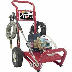 NorthStar Electric Cold Water Pressure Washer-3000 PSI 2.5 GPM 230V #1573021