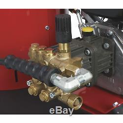 NorthStar Gas Wet Steam & Hot Water Pressure Washer 2,700 PSI, 2.5 GPM