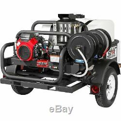 NorthStar Hot Water Pressure Washer- Honda Engine 4 GPM @ 4K PSI Trailer Mounted