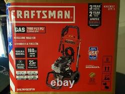 OBO CRAFTSMAN (HONDA ENGINE) 2800-PSI 2.3-GPM Cold Water Gas Pressure Washer