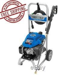 POWERSTROKE 2200 PSI Gas 2.0 GPM Pressure Washer with Wheels 25 High Pressure Hose