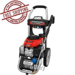 POWERSTROKE 3100 PSI Pressure Washer with Honda Engine High Power Outdoor Cleaning