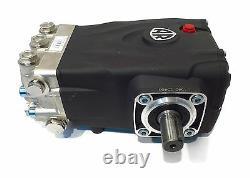 PRESSURE WASHER PUMP replaces General TS2021N Solid Shaft T-47 Triplex Pump