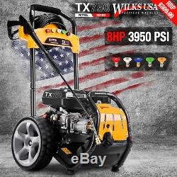 Petrol Pressure Washer 3950PSI / 272BAR Power Jet Cleaner WILKS USA TX750