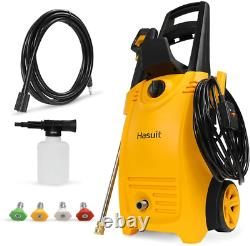 Portable Pressure Washer Machine Electric Power Cleaner 3800 PSI 2.8 GPM Orange