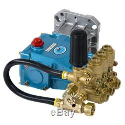 Pressure-Pro Fully Plumbed CAT 66 DX 4000 PSI 4 GPM Replacement Pump with Pulsa