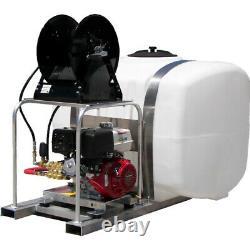 Pressure Pro Pressure Washer Pro Skid Kit TS/D4040HA431 4 GPM 4000 PSI 50gl Tank