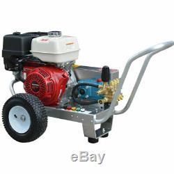 Pressure-Pro Professional 4000 PSI (Gas-Cold Water) Belt-Drive Aluminum Frame