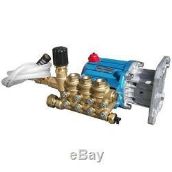 Pressure Pro SLP67DX39-930 CAT Pressure Washer Pump 4200PSI, 1 Hollow Shaft, wi