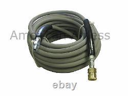 Pressure Wash Hose Gray Non-Marking Pressure Washer Hose 3/8 x 150' 4000 PSI