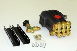 Pressure Washer Solid Shaft Pump 24mm Belt Drive, 2200PSI 9.8 GPM