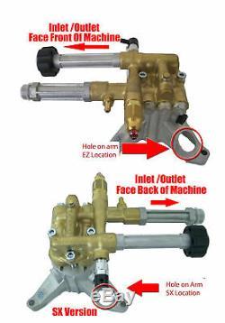 Pump, RMW2.2G24EZ, 2400PSI@2.2GPM