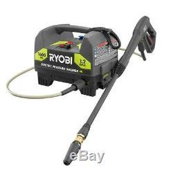 RYOBI 1600 PSI 1.2 GPM Electric Pressure Washer Portable Lightweight 1YR WARANTY