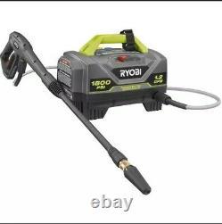 RYOBI 1,800 PSI 1.2 GPM 3 year warranty Electric Pressure Washer