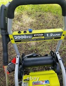 RYOBI 2000 PSI 1.2 GPM Electric Pressure Washer RY141900