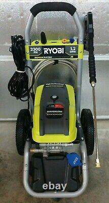 RYOBI Brushless 1.2 GPM 2300 PSI Electric Pressure Washer