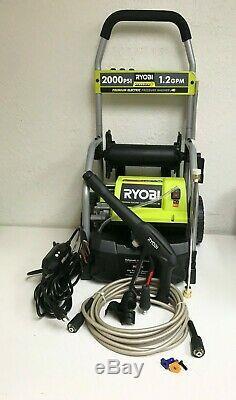 RYOBI RY141900 Electric Pressure Washer 2000 PSI 1.2 GPM N