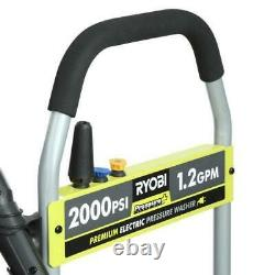 Reconditioned 2,000PSI 1.2GPM Electric Pressure Washer Turbo More Cleaning Power