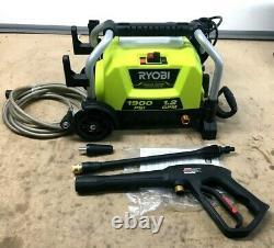 Ryobi RY1419 MTVNM 1900 PSI 1.2 GPM Electric Pressure Washer GR